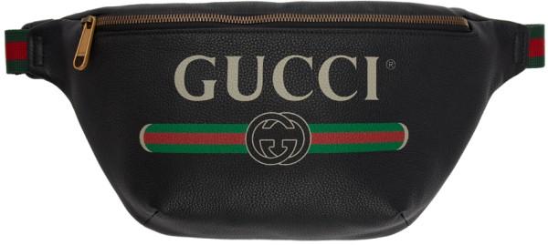 Gucci Leder Bauchtasche