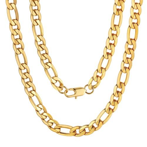 Herren Halskette Figarokette