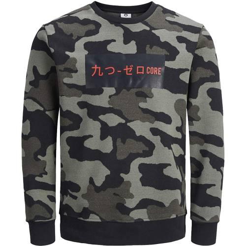 Jack Jones Camo Sweatshirt
