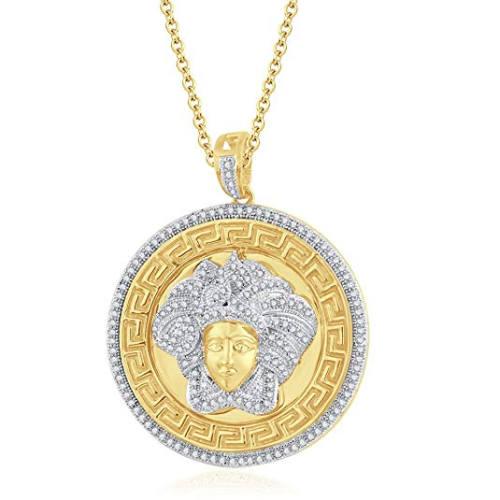 Medusa Medallion Halskette