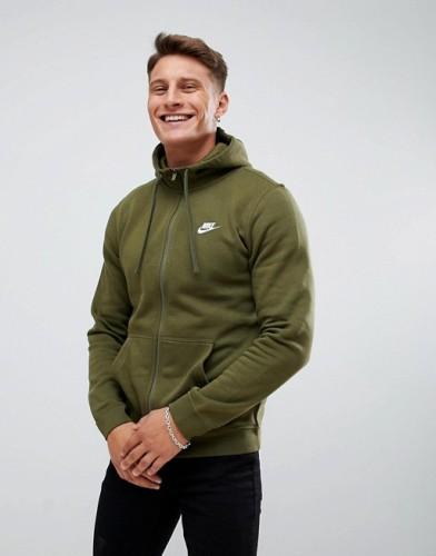 Nike Sweatshirt olivgrün
