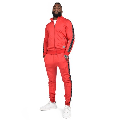 Project X Paris Tracksuit red