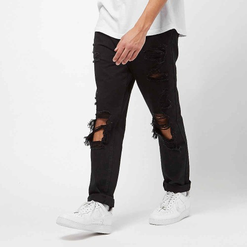 Ripped Jeans black