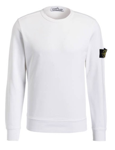 Stone Island Sweatshirt weiß