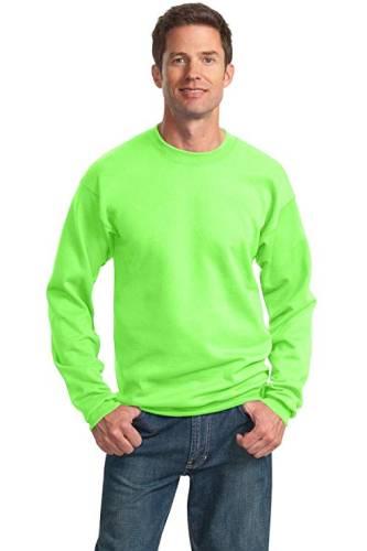Sweatshirt Neon grün Herren