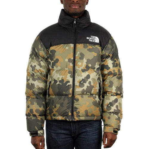 Luciano Outfit The North Face Camo Daunenjacke