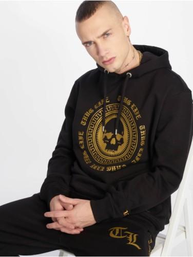 Thug Life Hoodie schwarz gold