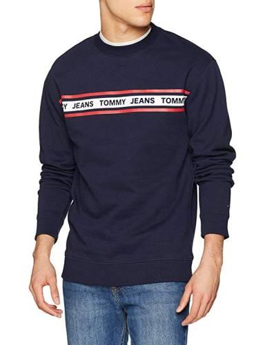 Tommy Jeans Stripe Logo Sweatshirt