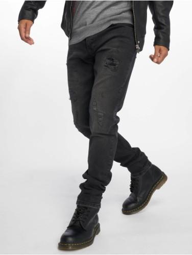 Destroyed Jeans schwarz Herren