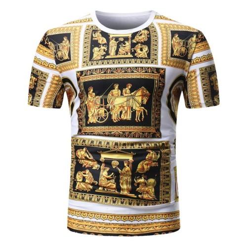Gold schwarz Mythos style t-shirt