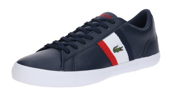 Lacoste Sneaker Leder blau