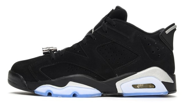 Nike Air Jordan 6 Low Chrome