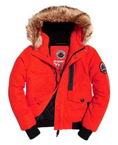 Superdry Everest Bomber bold orange