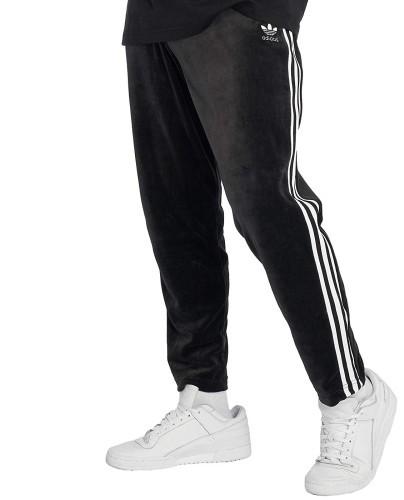 Adidas VelourHose schwarz