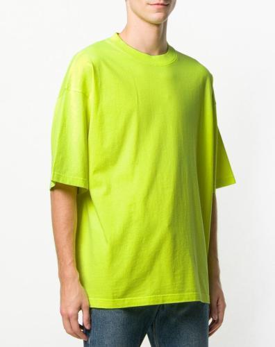 Balenciaga T-Shirt neongelb