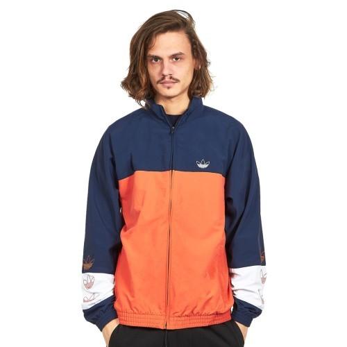 Adidas Trainingsanzug blau orange