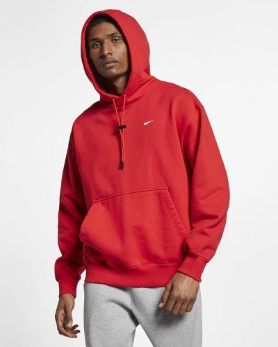 Capital Bra Hoodie Nike rot