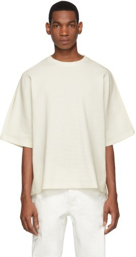 Shindy T-Shirt oversized weiß