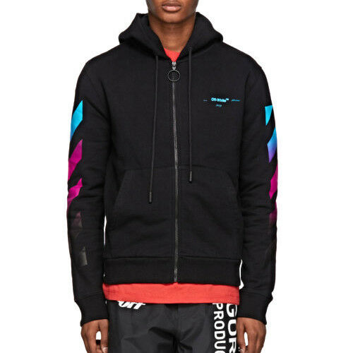Kay One Off-White Zip Hoodie