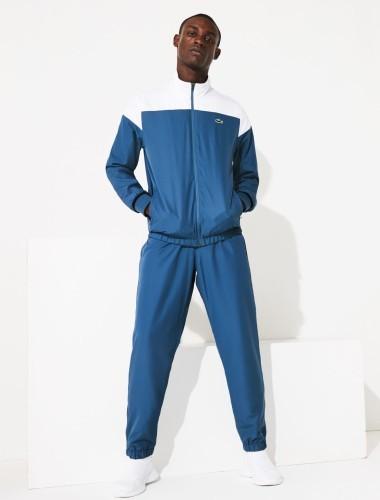 Lacoste Trainingsanzug blau weiß
