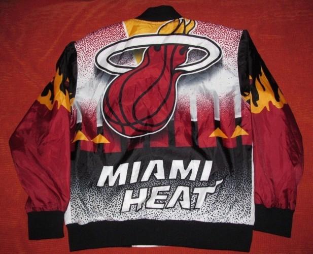 Miami Heat Backprint Jacket