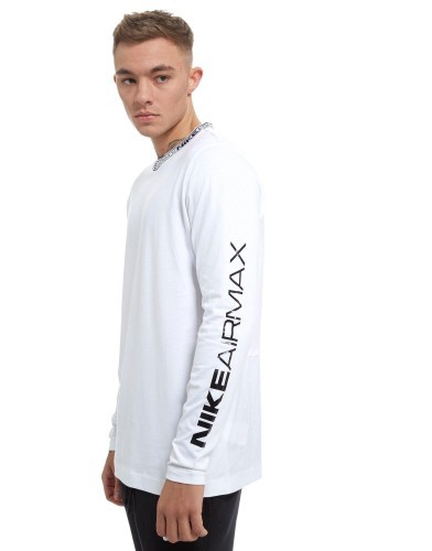 Nike Air Max Longsleeve white