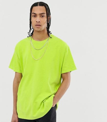 Oversized T-Shirt neongelb