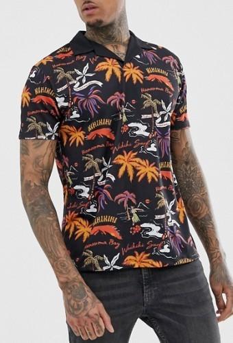 Poloshirt Hawaii
