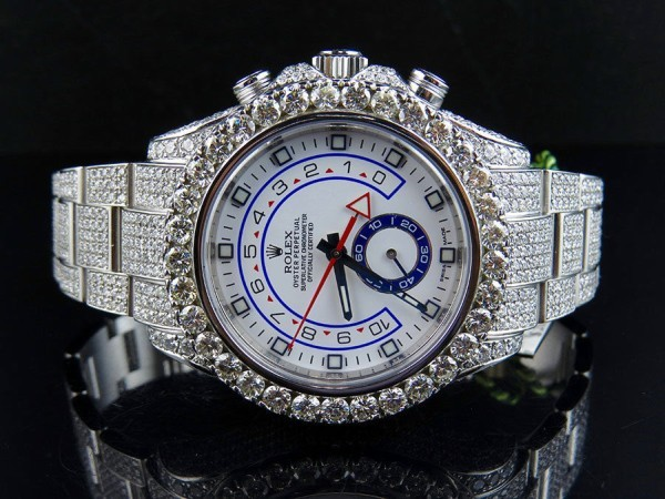 Rolex Yachtmaster Iced Out