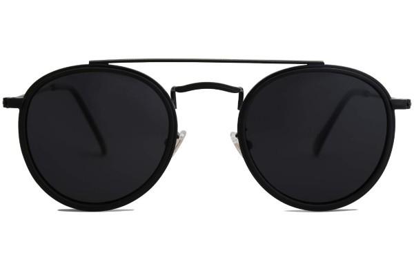 Sojos Retro Sonnenbrille rund