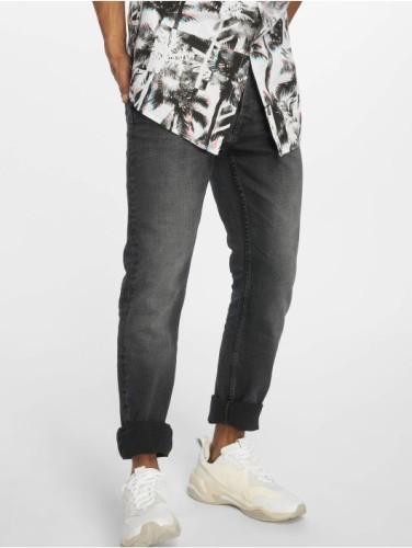 Straight Leg Jeans schwarz