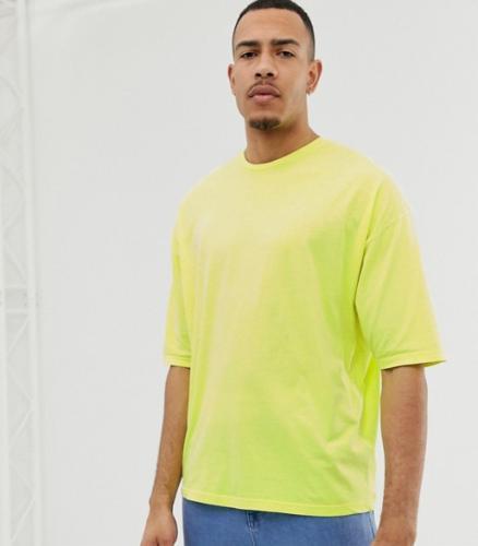 T-Shirt Oversized Neongelb