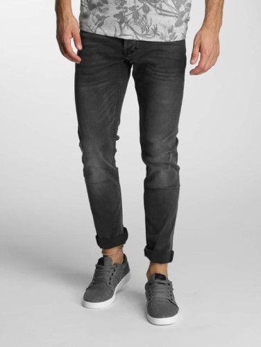 Washed Jeans schwarz