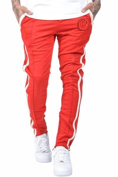 Eno rote Jogginghose weiße Streifen