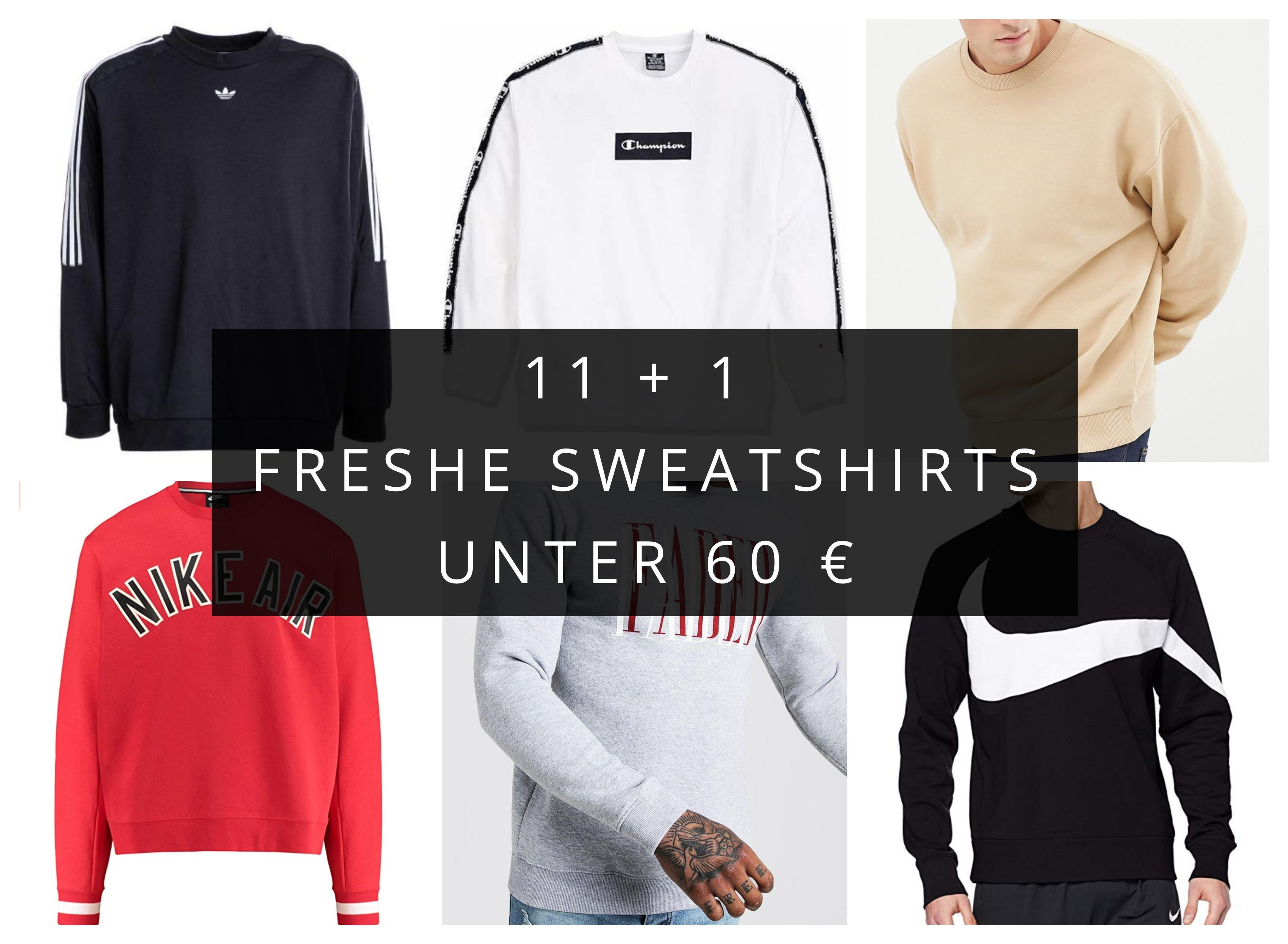 11 + 1 freshe Pullover unter 60€ · ImmerFresh