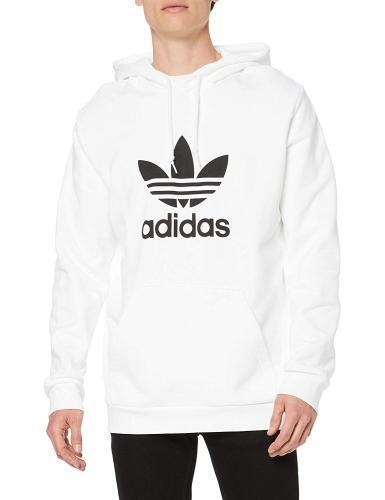 Adidas Logo Trefoil Hoodie weiß