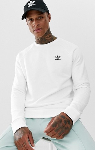 Adidas Originals weisser Sweater