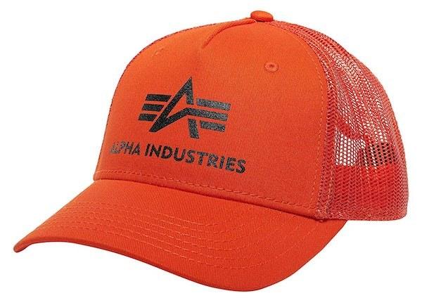 Alpha Industries Cap orange