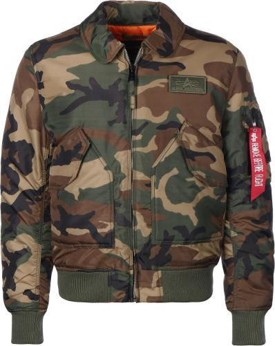 Alpha Industries CWU VF TT Jacke Camouflage