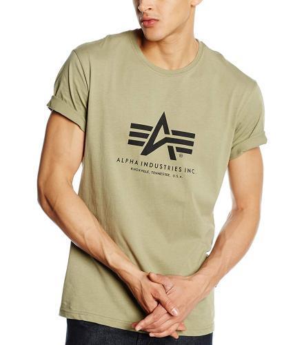 Alpha Industries T-Shirt oliv