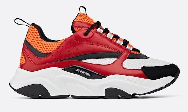 Ufo361 rot weiße Schuhe