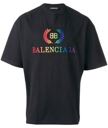 Bodyformus Balenciaga T-Shirt schwarz