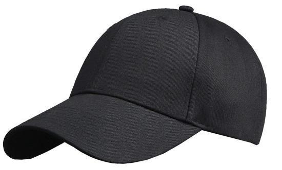 Basecap Strapback schwarz