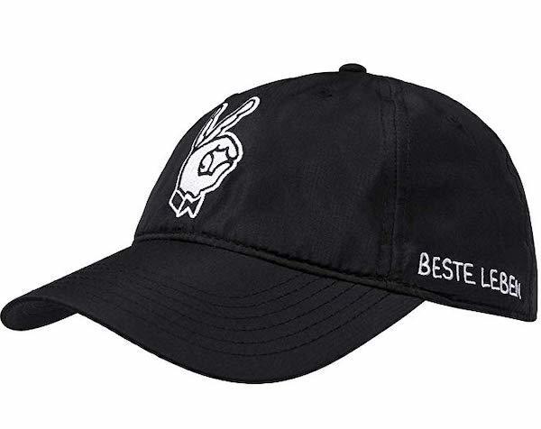 Beste Leben Cap schwarz