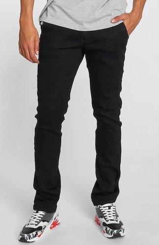 King Khalil schwarz straight Jeans