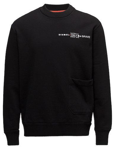 Diesel Men Sweater schwarz