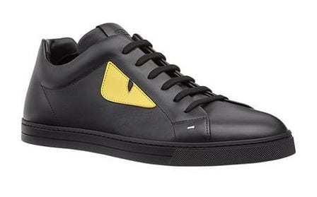 Luciano schwarz gelbe Schuhe Instagram