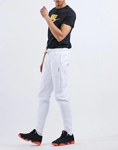 Samra weiße Jogginghose
