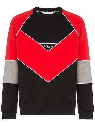 Sido Sweater rot grau schwarz Givenchy