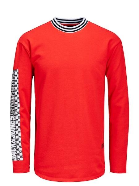 Eno Souvenir rotes Sweatshirt